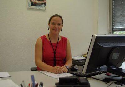 Sie steht für eine Kandidatur bei der Bundestagswahl 2017 zur Verfügung: Janine Köster wünscht sich mehr Frauen in Führungspositionen und möchte in diesem Sinne mit gutem Beispiel vorangehen. Foto: M. Grobusch