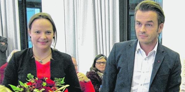 Sie haben eine Wahl verloren, dürfen sich aber als Sieger im Kampf gegen Politikverdrossenheit fühlen: Janine Köster und Markus Conrads.